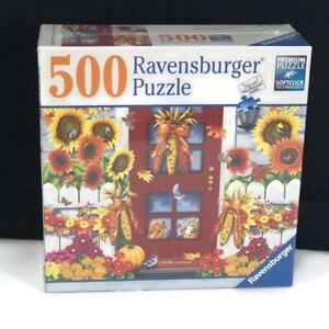 Ravensburger Puzzle Autumn Birds 500 Pieces 80 648 Jigsaw 19.5 x 14.25 Sealed