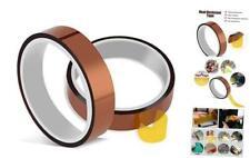 2 Rolls 10mm X 33m 108ft Heat Tape Heat Resistant Tape Heat Transfer Tape