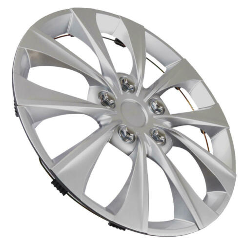 """16/"""" Wheel Cover Replacement 10-Spoke Performance Car Rim Protector 4-Pack"""