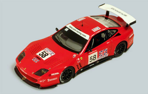 FERRARI 550 Maranello  58 Le Mans 2002 1 43 MODEL rossoline