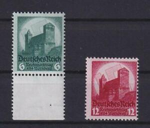 DR 546-47 Reichsparteitag postfrisch komplett (ct232)