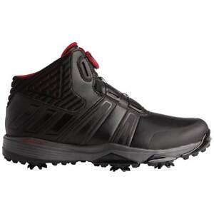Image is loading New-Adidas-ClimaProof-Boa-Golf-Shoes-Core-Black- 583f999e2f