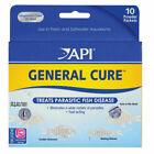 API General Cure Freshwater/Saltwater Fish Powder Medication - 10 Boxes
