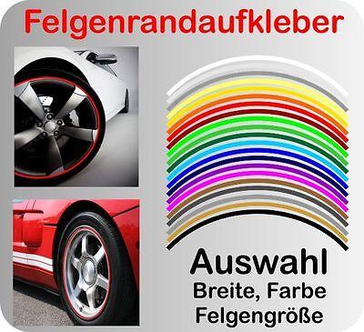 Felgenrand Aufkleber Auto Motorrad Felgenrandaufkleber Felgenaufkleber Stripe7mm