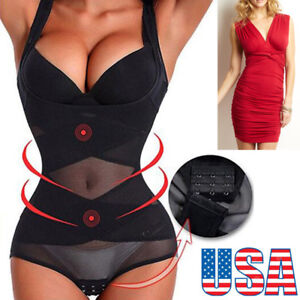 super cheap pretty cool new york Details about New Super Invisible Womens Body Shaper Waist Trainer Corset  Cincher Firm Control