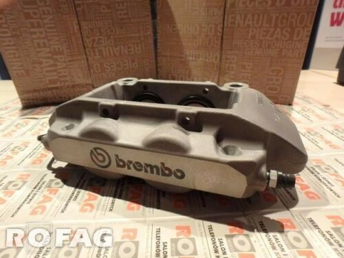 New GENUINE RenaultSport Clio III RS 197 /& 200 brembo caliper front SILVER CUP