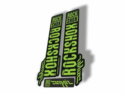 Rock Shox DOMAIN 2018 Fork Decal Mountain Bike Cycling Sticker Adhesive Green
