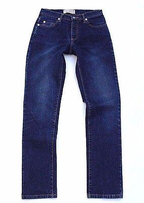 Women's Vintage B. Younq Chiusura Zip Stretch Straight Blu Denim Jeans Taglia W28 L32-mostra Il Titolo Originale Un Arricchimento E Nutriente Per Il Fegato E Il Rene