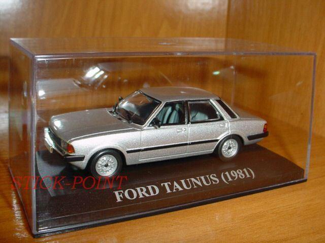 la red entera más baja FORD TAUNUS plata 1981 1 43 WITH BOX BOX BOX   MINT     se descuenta