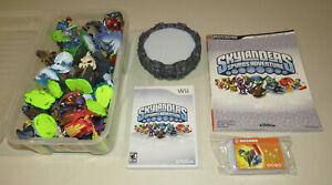 Skylanders-Bundle-Lot-Spyro-039-s-Adventure-Guide-Wii-Game-41-Figures-Portal-Power