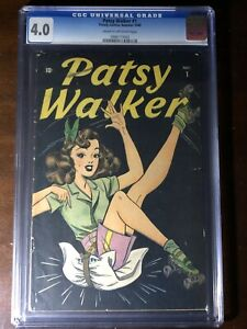 Patsy-Walker-1-1945-Premiere-Issue-Hellcat-CGC-4-0-Key-Rare