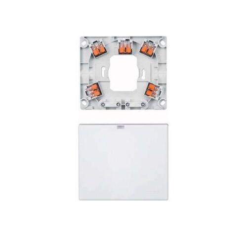 Merten FORNELLO connettore jack a muro meg1011-9019 bianco connessione dispositivi plastica dosi