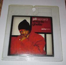 Pit Baccardi - enfants du ghetto - cd single 2 titres 2002 (neuf scellé)