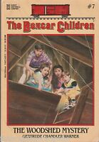 The Boxcar Children Mysteries: The Woodshed Mystery 7 by Gertrude Chandler...