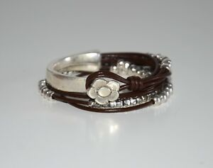 Pulsera de cuero,hecha a mano,uno diferente de 50,pulsera de zamak,negro marron