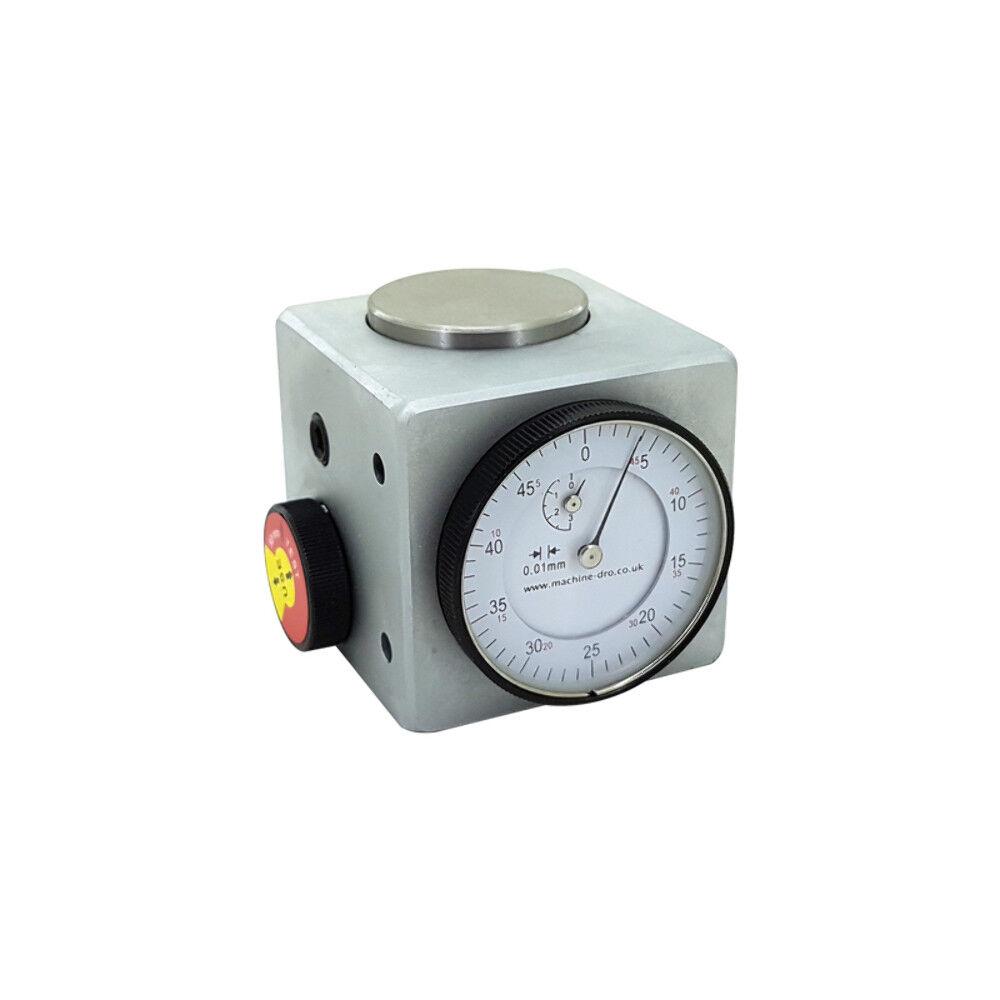 Z Achse Höhe Dial Werkzeug Offset Einstellung Gauge mit Magnetfuß - CNC Mühle