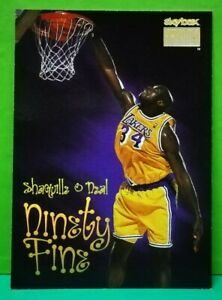 Shaquille-O-039-Neal-card-Ninety-Fine-98-99-Skybox-212