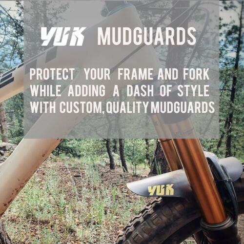 Yuk Mudguard Custom For AM DH bikes Protect your FACE