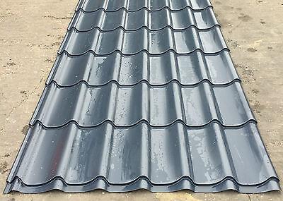 Pan Tile Steel Roofing Sheets Look