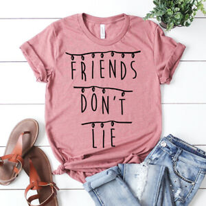 Stranger-Things-Friends-Don-039-t-Lie-T-shirt-Netflix-Tee-Eleven-Shirt-Unisex