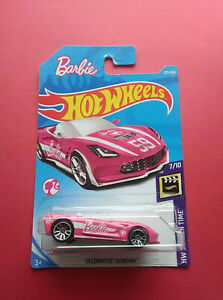 HOT-WHEELS-14-CORVETTE-STINGRAY-BARBIE-LONGUE-CARTE-FJW39-R-5849