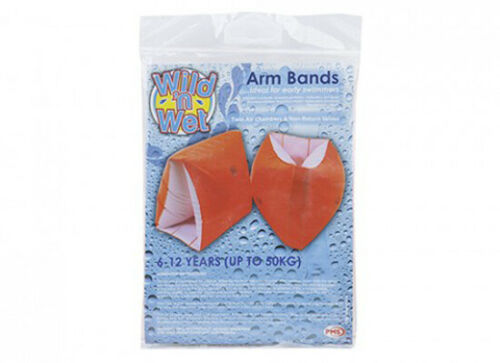 Inflatable Arm Bands for Children Ages 3-12  Water Wings for learning to Swim