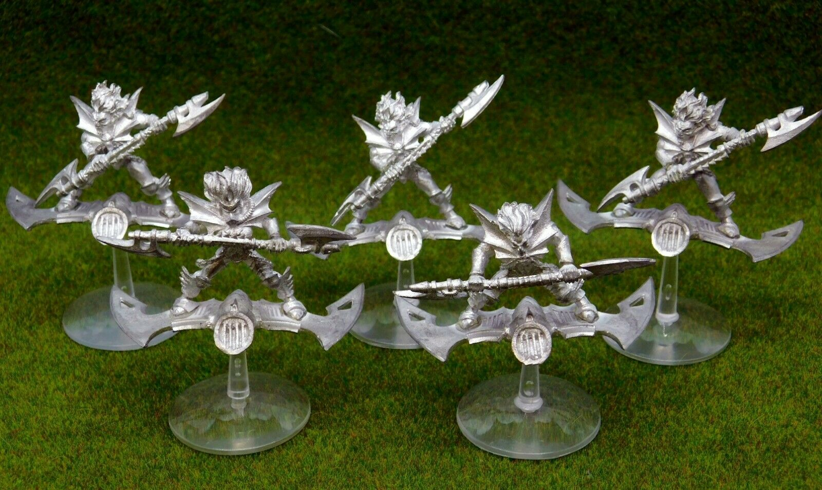 40k Dark Eldar metal HELLIONS x5 unpainted Drukhari Citadel GW 60958