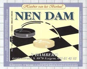 BELGIUM-Micro-Huisbier-van-het-Bierhuis-NEN-DAM-t-Damberd-beer-label-C2184-107