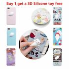 Squishy 3D Soft Silicone Cat Phone Case Cover for iPhone 7 6s 6 plus 5S/SE CA