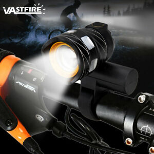 Rechargeable 15000LM XM-L T6 LED MTB Bicycle Light Bike Front Headlight w//USB CZ