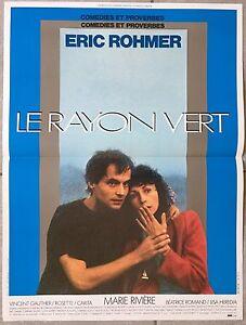 Affiche-LE-RAYON-VERT-Marie-Riviere-ERIC-ROHMER-Vincent-Gauthier-40x60cm