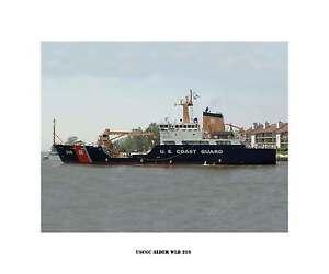 United States Coast Guard Ship Photo Print --USCG USCGC SEDGE WLB 402