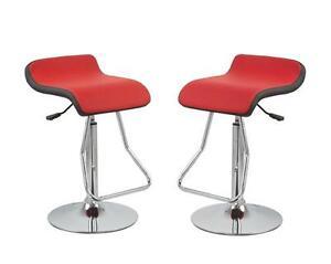 Coppia 2 sgabelli ecopelle bar sedie cucina ristorante sgabello nero