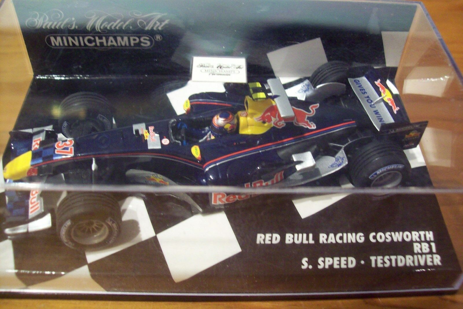 1 43 RED BULL 2005 COSWORTH RB1 TEST DRIVER SCOTT SPEED