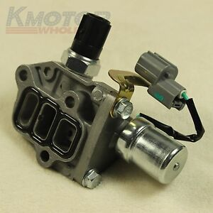 New Genuine Vtec Solenoid Spool Valve For 1998 2002 Honda Accord 4 Cyl Odyssey Ebay