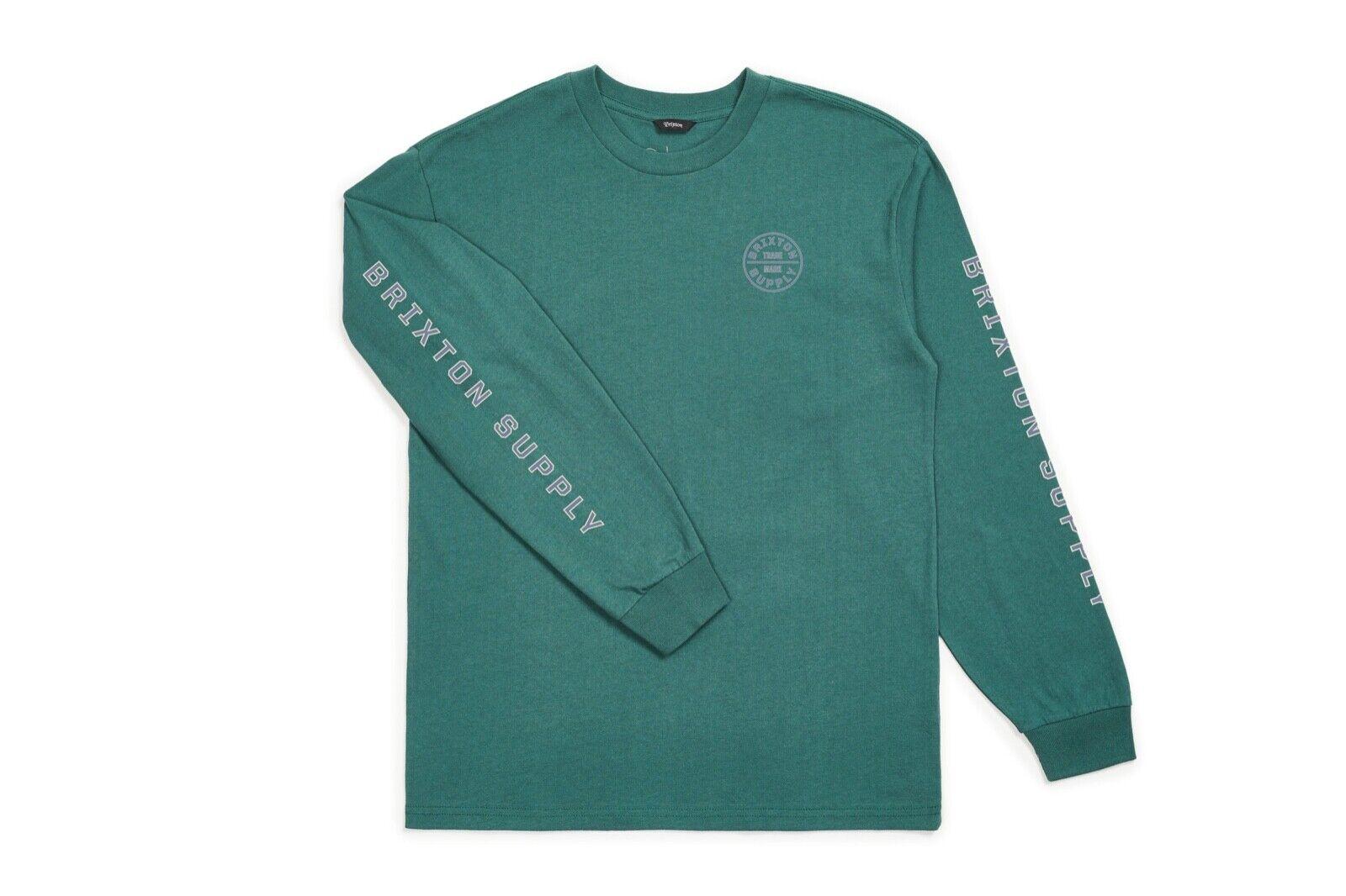 1a85f1d053 BRIXTON OATH IV NEU EMERALD GR BRIXTON SUPPLY LONGSLEEVE M nznyns19979-T- Shirts. Weatherproof Mens Flannel Button Up Shirt Menu