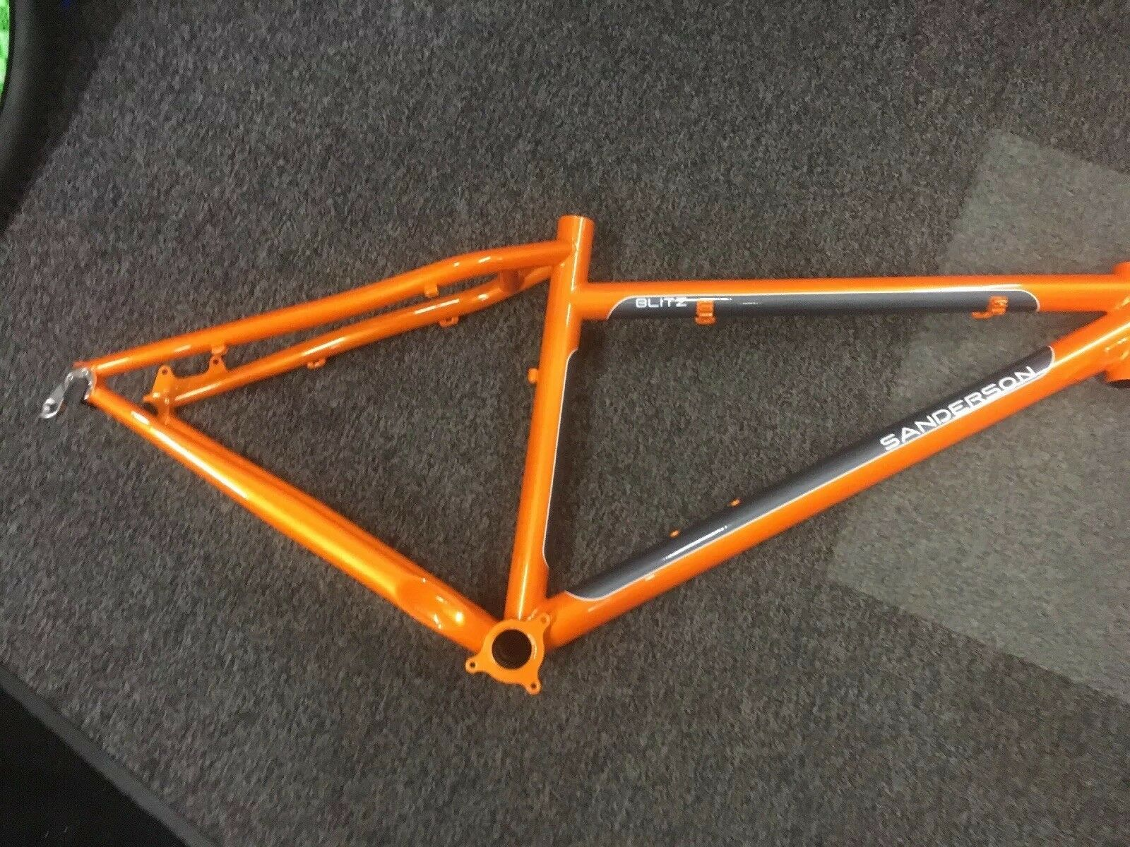"Sanderson Blitz 16"" Frame orange   Grey"