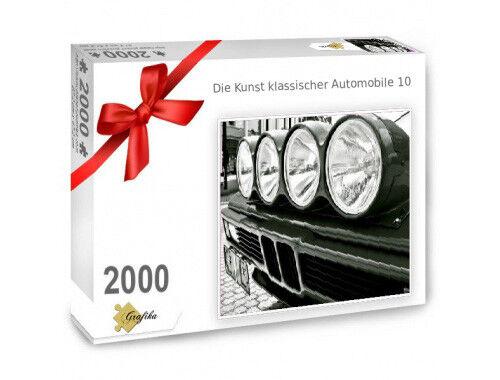 BMW M1 Puzzle 2000 Teile Die Kunst automobiler Klassiker Motiv 10 12