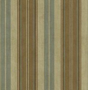 blue striped and wallpaper Brown