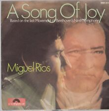 """7"""" Miguel Rios A Song Of Joy / No Sabes Como Sufri 70`s Polydor (Mattes Label)"""