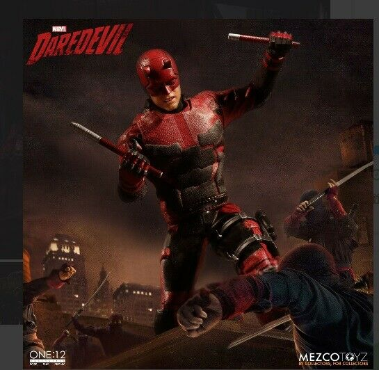 The One 12 Collective Marvel Darotevil Figure Mezco