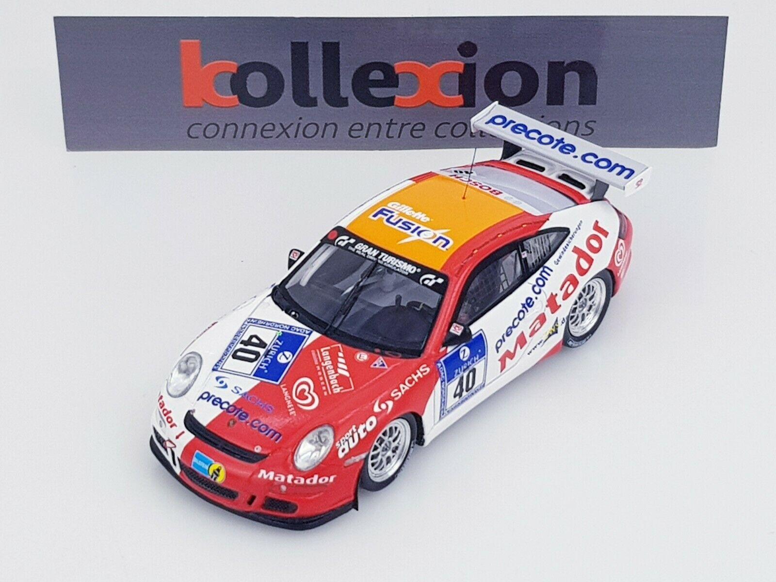 Spark Porsche 911 GT3 Cup No. 40 24h Nürburgring 2007 1.43 Nb