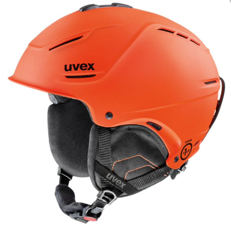 Uvex p1us Skihelm Snowboardhelm Gr. L Kopfumfang 59-62 cm cm 59-62   Orange Neu d04497