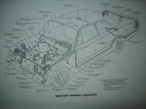1969 Ford Falcon wiring diagram all models and options ...