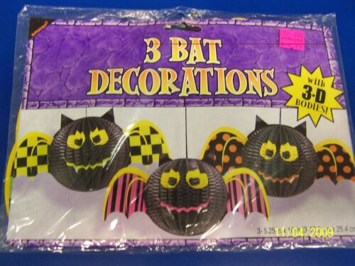 Bats Halloween Carnival Party Hanging 3D Decorations