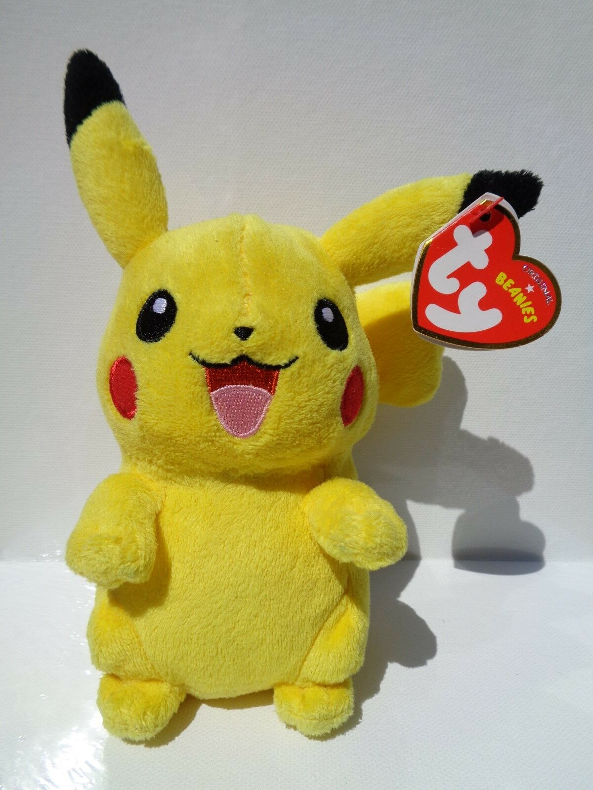 RARE EXCLUSIVE PIKACHU BEANIE BABY, TY, PRISTINE CONDITION WITH MINT TAGS