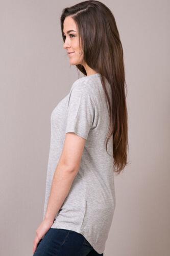 Z Supply The Sleek Jersey Pocket Tee Heather Grey