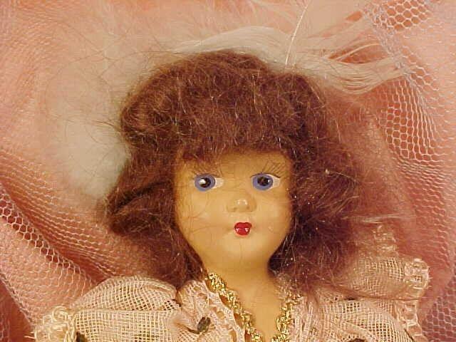 Jahr Marcie Doll Cinderella A & H Dolls  804 Composition Head Original Box