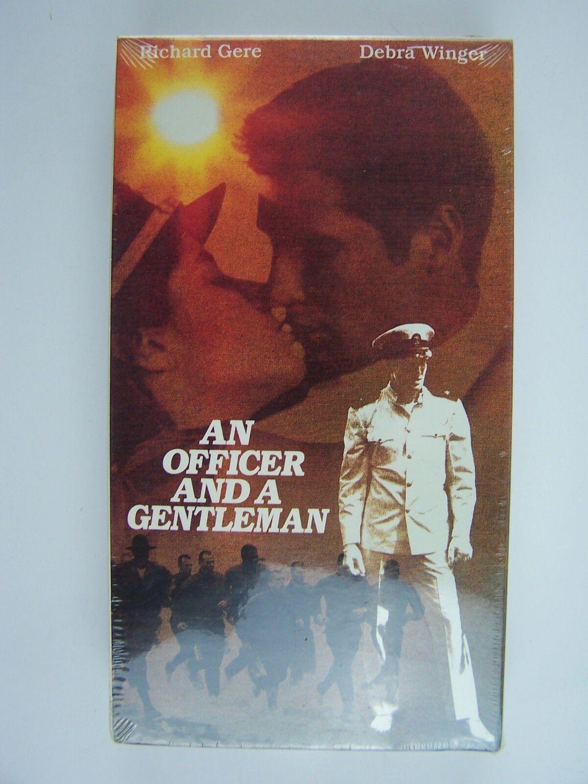 An Officer and A Gentleman VHS Video Richard Gere Debra