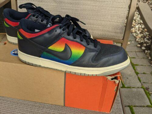 Nike Dunk Low Dark Obsidian Varsity Royal 312490-4